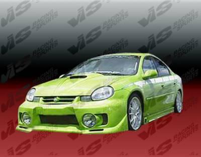 VIS Racing - Dodge Neon 4DR VIS Racing EVO-5 Front Bumper - 00DGNEO4DEVO5-001