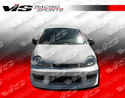 VIS Racing - Dodge Neon 4DR VIS Racing Striker Front Bumper - 00DGNEO4DSTR-001