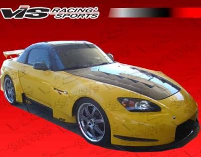 VIS Racing. - Honda S2000 VIS Racing AMS Widebody Front Bumper - 00HDS2K2DAMSWB-001