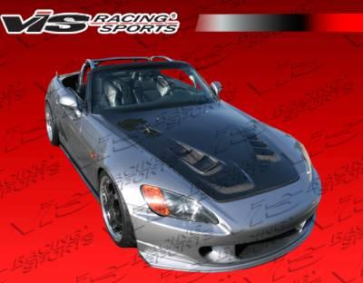 VIS Racing - Honda S2000 VIS Racing AMS R1 Style Front Bumper - 00HDS2K2DAR1-001