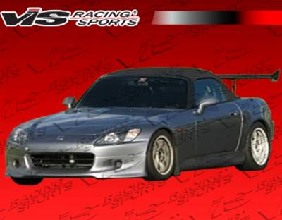 VIS Racing - Honda S2000 VIS Racing KD Front Lip - Urethane - 00HDS2K2DKD-011P