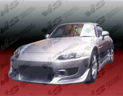 VIS Racing - Honda S2000 VIS Racing Tracer Front Bumper - 00HDS2K2DTRA-001