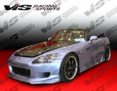 VIS Racing - Honda S2000 VIS Racing Walker Front Lip - 00HDS2K2DWAL-011