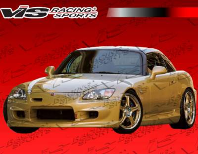VIS Racing - Honda S2000 VIS Racing Wings Front Bumper - 00HDS2K2DWIN-001