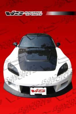 VIS Racing. - Honda S2000 VIS Racing Z Speed Widebody Front Bumper - 00HDS2K2DZSPWB-001