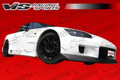 VIS Racing - Honda S2000 VIS Racing Z-Speed Wide Carbon Fiber Front Lip - 00HDS2K2DZSPWB-011C