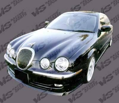 VIS Racing - Jaguar S Type VIS Racing Invader-2 Front Lip - 00JAST4DINV2-011