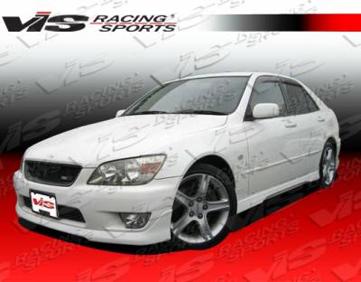 VIS Racing - Lexus IS VIS Racing Techno R-2 Front Lip - 00LXIS34DTNR2-011