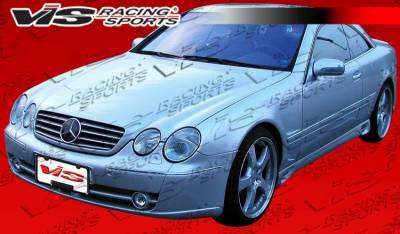 VIS Racing - Mercedes-Benz CL Class VIS Racing Laser F1 Front Bumper - 00MEW2152DLF1-001