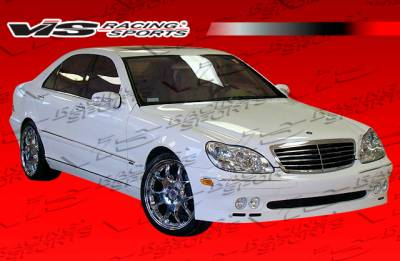 VIS Racing - Mercedes-Benz S Class VIS Racing B Spec Front Bumper - 00MEW2204DBSC-001