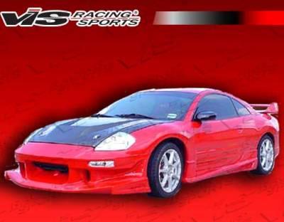 VIS Racing - Mitsubishi Eclipse VIS Racing Ballistix-2 Front Bumper - 00MTECL2DBX2-001