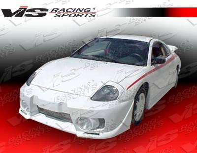 VIS Racing - Mitsubishi Eclipse VIS Racing EVO-5 Front Bumper - 00MTECL2DEVO5-001
