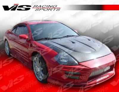 VIS Racing - Mitsubishi Eclipse VIS Racing Torque Front Bumper - 00MTECL2DTQ-001