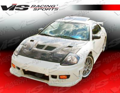 VIS Racing - Mitsubishi Eclipse VIS Racing Z1 boxer Front Bumper - 00MTECL2DZ1-001
