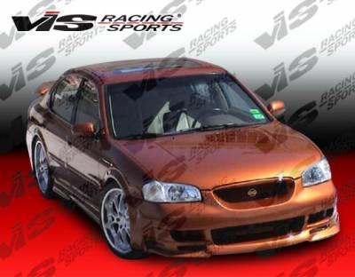 VIS Racing - Nissan Maxima VIS Racing Kombat Front Bumper - 00NSMAX4DKOM-001