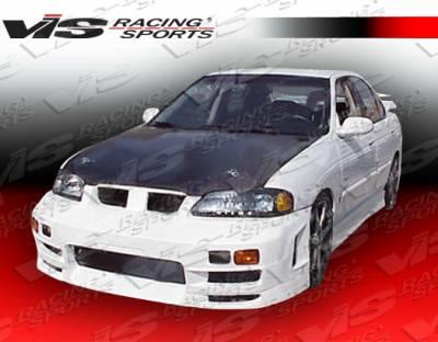 VIS Racing - Nissan Sentra VIS Racing EVO-4 Front Bumper - 00NSSEN4DEVO4-001