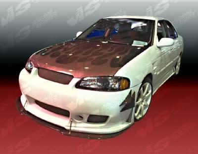 VIS Racing - Nissan Sentra VIS Racing TSC-3 Front Bumper - 00NSSEN4DTSC3-001