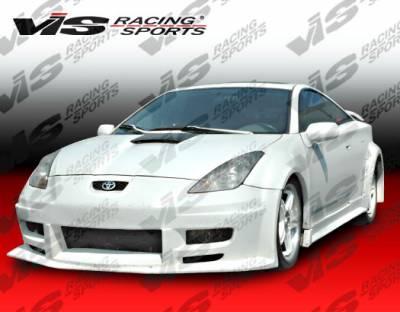 VIS Racing. - Toyota Celica VIS Racing Laser Front Bumper - 00TYCEL2DLS-001