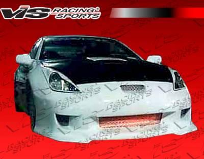 VIS Racing - Toyota Celica VIS Racing Strada F1 Front Bumper - 00TYCEL2DSF1-001