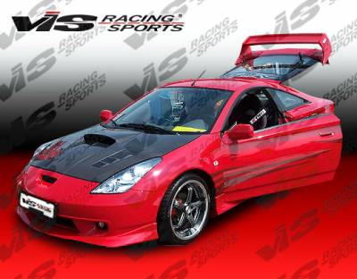 VIS Racing - Toyota Celica VIS Racing Techno R-1 Front Lip - 00TYCEL2DTNR1-011