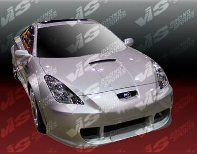 VIS Racing - Toyota Celica VIS Racing Techno R-3 Front Bumper - 00TYCEL2DTNR3-001