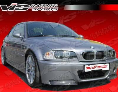 VIS Racing - BMW 3 Series 2DR VIS Racing CSL Front Bumper - 01BME46M32DCSL-001