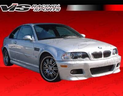 VIS Racing - BMW 3 Series 2DR VIS Racing OEM Front Bumper - 01BME46M32DOE-001
