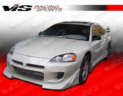 VIS Racing - Dodge Stratus 4DR VIS Racing Battle Z Front Bumper - 01DGSTR4DBZ-001