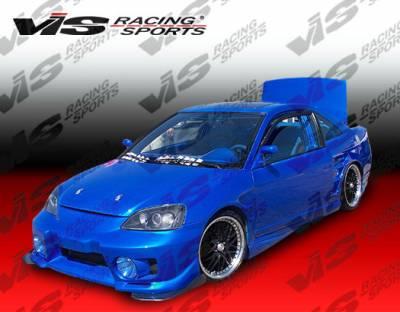 VIS Racing - Honda Civic 2DR VIS Racing EVO-5 Front Bumper - 01HDCVC2DEVO5-001
