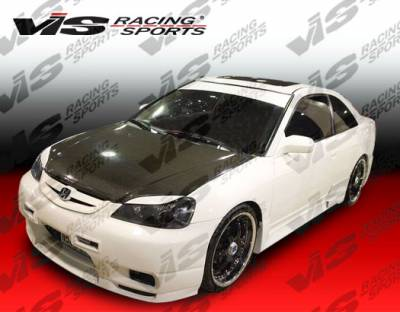 VIS Racing. - Honda Civic 2DR & 4DR VIS Racing Omega Front Bumper - 01HDCVC4DOMA-001