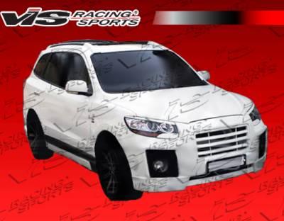 VIS Racing - Hyundai Santa Fe VIS Racing Top Mate Front Bumper - 01HYSAN4DTOP-001