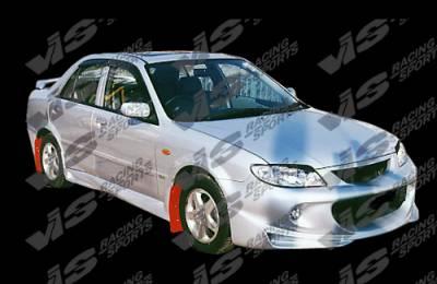 VIS Racing. - Mazda Protege VIS Racing Cyber-2 Front Bumper - 01MZ3234DCY2-001