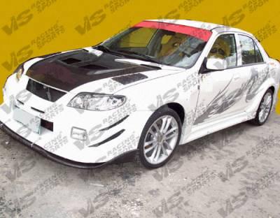 VIS Racing. - Mazda Protege VIS Racing GT Widebody Front Bumper - 01MZ3234DGTWB-001