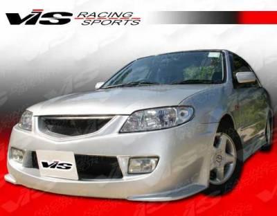 VIS Racing - Mazda Protege VIS Racing Techno R Front Bumper - 01MZ3234DTNR-001