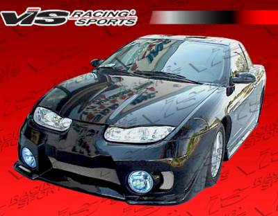 VIS Racing - Saturn SC Coupe VIS Racing EVO-5 Front Bumper - 01SASC22DEVO5-001