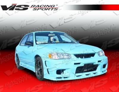 VIS Racing. - Toyota Corolla VIS Racing Omega Front Bumper - 01TYCOR4DOMA-001