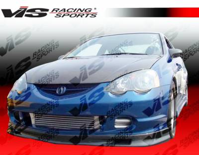 VIS Racing - Acura RSX VIS Racing Type-S Carbon Fiber Lip - 02ACRSX2DSPN-011C