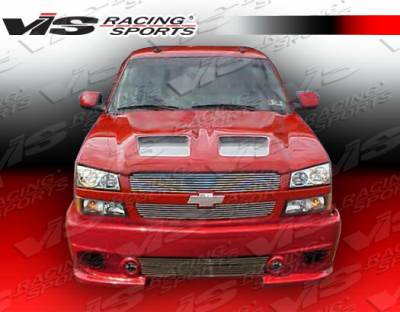 VIS Racing - Chevrolet Avalanche VIS Racing Viper Front Bumper - 02CHAVA4DVR-001