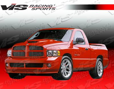 VIS Racing - Dodge Ram VIS Racing SRT Front Bumper - 02DGRAM2DSRT-001