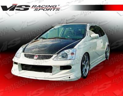 VIS Racing - Honda Civic HB VIS Racing TPG Front Bumper - 02HDCVCHBTPG-001