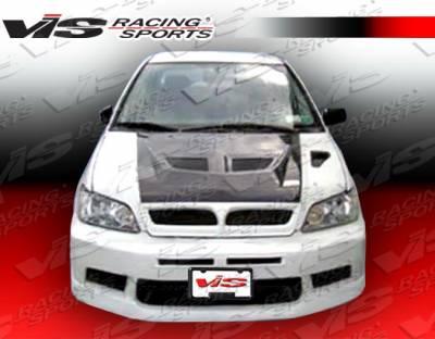 VIS Racing - Mitsubishi Lancer VIS Racing EVO 7 Front Bumper - 02MTLAN4DEVO7-001