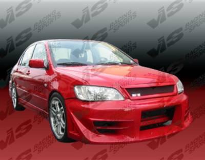 VIS Racing - Mitsubishi Lancer VIS Racing Walker Front Bumper - 02MTLAN4DWAL-001