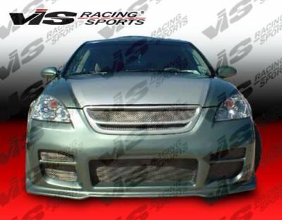VIS Racing - Nissan Altima VIS Racing Octane Front Bumper - 02NSALT4DOCT-001