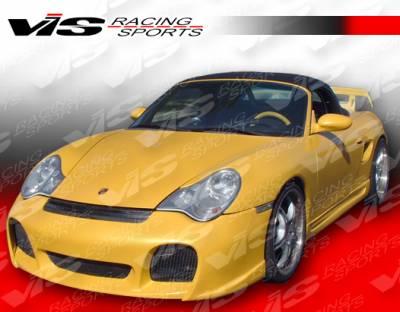 VIS Racing - Porsche 911 VIS Racing A Tech Front Bumper - 02PS9962DATH-001