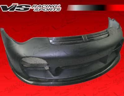 VIS Racing - Porsche 911 VIS Racing A Tech Front Bumper - Carbon Fiber - 02PS9962DATH-001CC