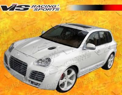 VIS Racing - Porsche Cayenne VIS Racing A Tech Front Bumper - 02PSCAY4DATH-001