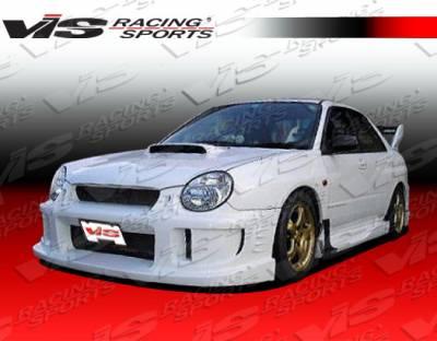VIS Racing - Subaru WRX VIS Racing Alfa Front Bumper - 02SBWRX4DALF-001