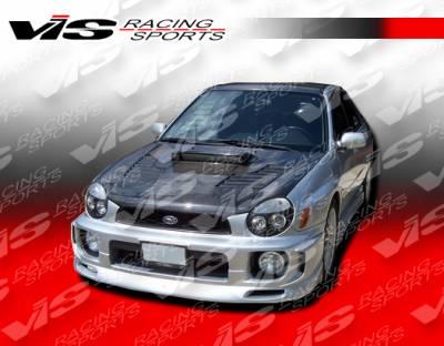 VIS Racing - Subaru WRX VIS Racing Z Speed Front Lip - 02SBWRX4DZSP-011