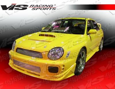VIS Racing - Subaru WRX VIS Racing Zyclone Front Lip - 02SBWRX4DZYC-011