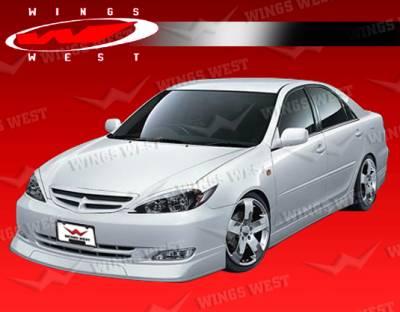 VIS Racing - Toyota Camry VIS Racing JPC Front Lip - Polyurethane - 02TYCAM4DJPC-011P